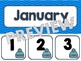 Calendar Pieces and Word Walls for All Year--12 MONTHS--400 vocabulary cards