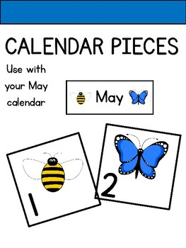 Calendar Pieces for May