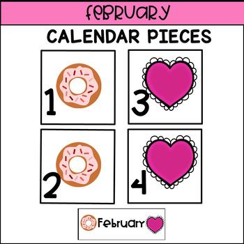 Calendar Pieces for February