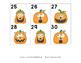 Calendar Pieces for First Grade - Set 1 (August - January)