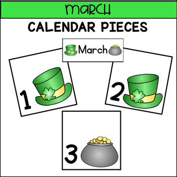Calendar Pieces for March