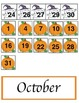 Calendar Pieces for September and October