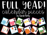 Calendar Pieces for the Full Year