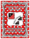 Calendar Pieces with Extras - Create Your Own Room - White