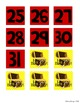 Calendar - Pirate Themed