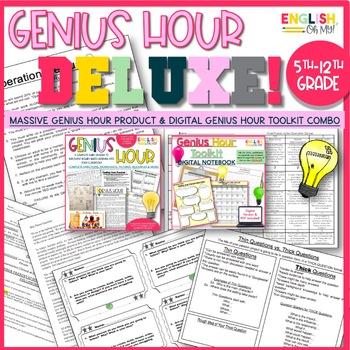 Genius Hour Deluxe Bundle
