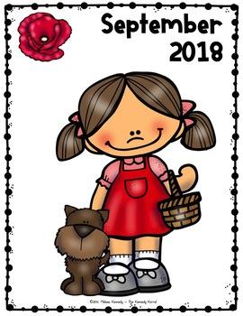 Calendar & Planner 2017-2018 {The Wizard of Oz}