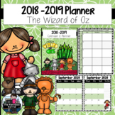 Calendar & Planner 2018-2019 {The Wizard of Oz}