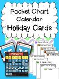Pocket Chart Calendar Holiday Cards