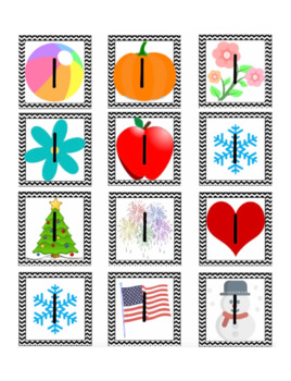 Pocket Chart Calendar Cards (25+ Themes Including Disney & Holidays!)