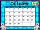 Calendar - Polar Bear Theme - School Year Calendar 2018-19