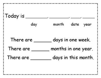 Calendar Posters for Bulletin Board