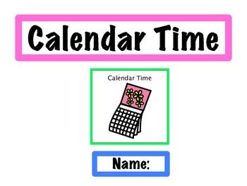 Calendar Powerpoint (boardmaker)