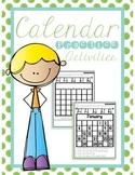 Calendar Practice Activities