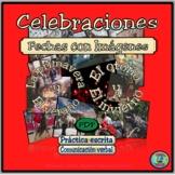 Calendar Practice Set 1 - Celebrations and Events .PDF version