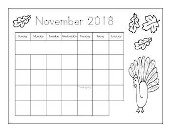 Calendar Writing 2018-2019 - Print