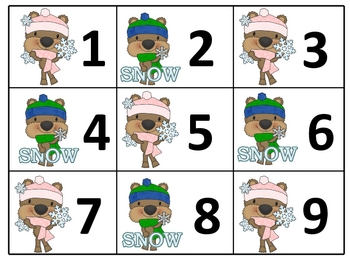 Calendar Printables with monthly math pattern activities!!