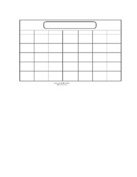 Calendar Project in Spanish / Proyecto del calendario en espanol