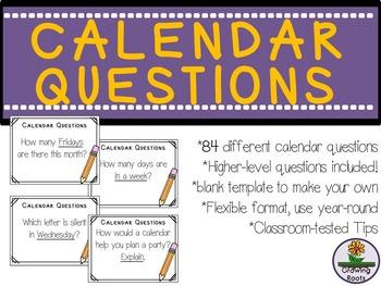 Calendar Questions