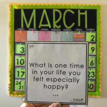 Calendar Quick Writes (BUNDLE)   An Interactive Writing Calendar