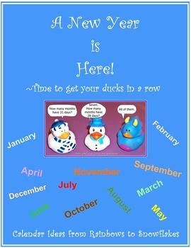 Calendar Resource & Activities for K-2