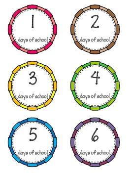 Calendar Routine- Days of School 1-200