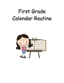 Calendar Routine - First Grade