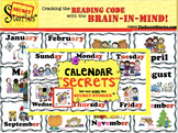 """Calendar SECRETS!"" from the SECRET STORIES® (w/ Phonics S"