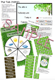Calendar + Seasons + Weather Pack [Bulletin Board Morning