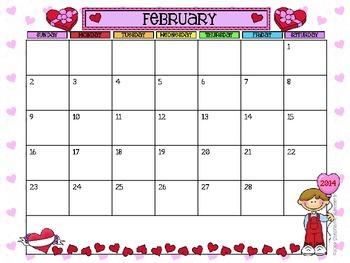 Calendar Set 2014