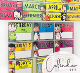 Classroom Calendar Set - ENGLISH