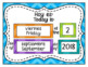 Calendar Set Bilingual {Spanish / English} EDITABLE Chevron