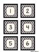 Calendar Set: Black Quatrefoil & Black Solid