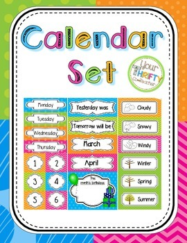Calendar Set {Bright}