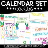 Calendar Set | Cactus | Bright & Colorful