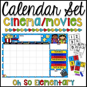 Calendar Set - Cinema & Movies