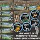 Calendar Set Classroom Decor Back to School Jungle Safari Theme