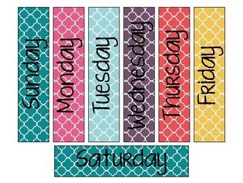 Calendar Set: Fall Colors