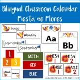 Calendar Set Fiesta de Flores - English/Spanish