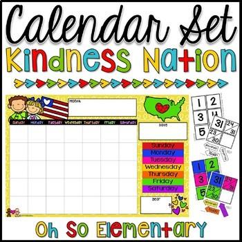 Calendar Set - Kindness Nation
