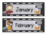 Calendar Set - Movie Theme