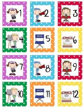 Calendar Set MovieTheme