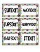 Calendar Set - {Multi Polka Dot}