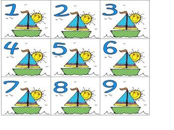 Calendar Set Nautical Theme
