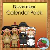 Calendar Pack | November