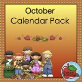 Calendar Pack | October