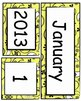 Calendar Set - Paisley Theme