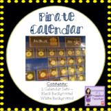 Calendar Set - Pirate Theme