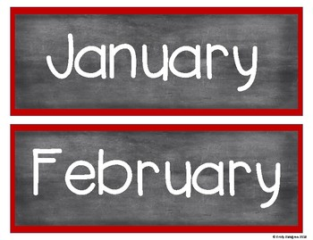 Calendar Set Pirate Theme