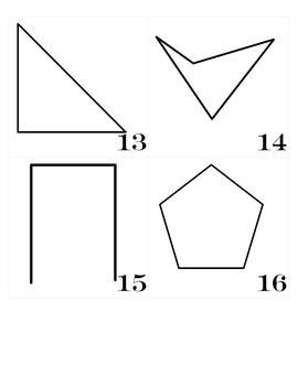 Calendar Set- Polygons and Symmetry CCSS